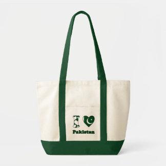 Tote Bag I love Pakistan