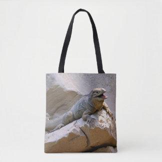 Tote Bag Iguane de rhinocéros
