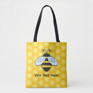 Tote Bag Illustration de ronflement de bourdon et de nid