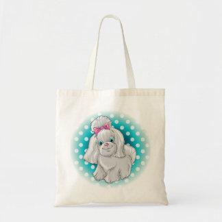 Tote Bag Illustration d'un terrier de Yorkshire mignon de