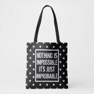 Tote Bag Impossible n'est pas français BSF