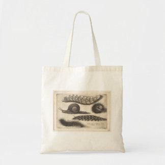 Tote Bag Insecte vintage de nature d'escargot de