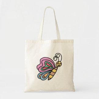 Tote Bag Inspiré par des papillons petit Fourre-tout
