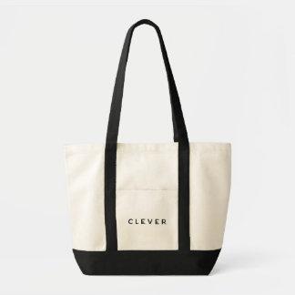 Tote Bag ` INTELLIGENT tout autour de ville Fourre-tout'