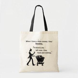 Tote Bag J'achète des livres