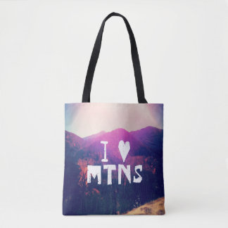 Tote Bag J'aime des montagnes
