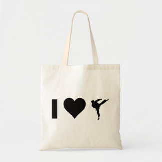 Tote Bag J'aime le karaté