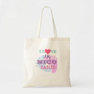 Tote Bag J'aime mon budget Fourre-tout de bébés de NICU