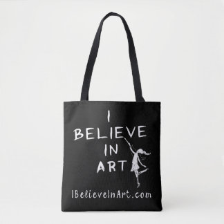 Tote Bag Je crois à l'art promotionnel