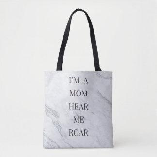 Tote Bag Je suis une maman m'entends hurler