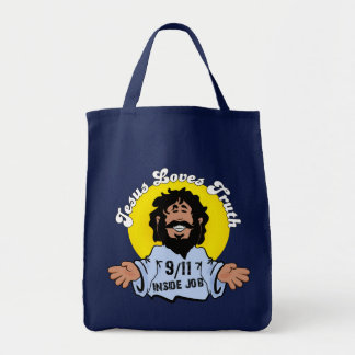 Tote Bag Jésus aime le travail intérieur de la vérité 9-11