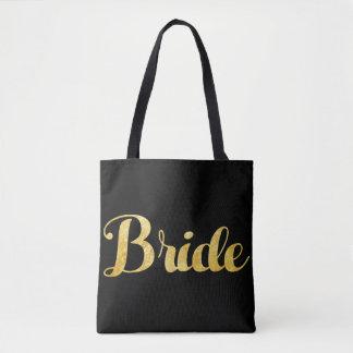 Tote Bag Jeune mariée d'or