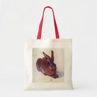 Tote Bag Jeunes lièvres par Albrecht Durer, beaux-arts de