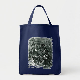 Tote Bag John Tenniel : Casier de Davy Jones