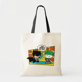 Tote Bag Joker de Chibi Pranking Chibi Batman