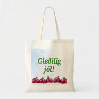Tote Bag Jól de Gleðilig ! Joyeux Noël dans le gf féroïen