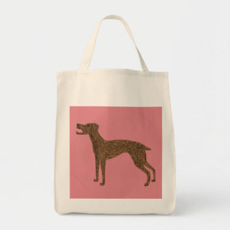 Tote Bag Jolie conception de chien