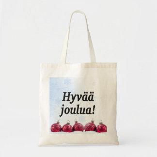 Tote Bag Joulua de Hyvää ! Joyeux Noël dans le FB