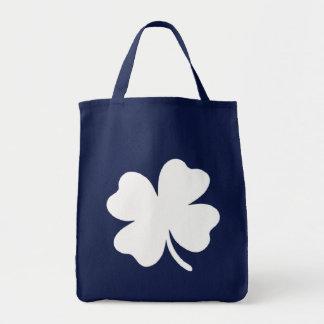 Tote Bag Jour de la Saint Patrick Irlande de shamrock