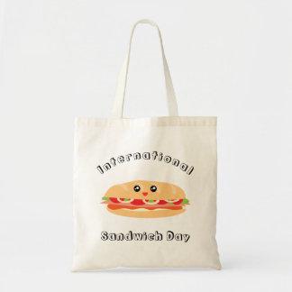 Tote Bag Jour international de sandwich