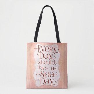 Tote Bag Jour quotidien de spa