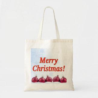 Tote Bag Joyeux Noël ! Joyeux Noël dans le rf anglais