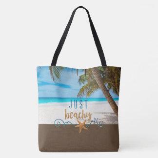 Tote Bag Juste pour la plage