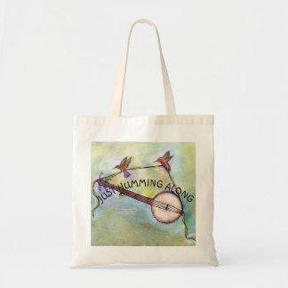 Tote Bag Juste ronflant le long