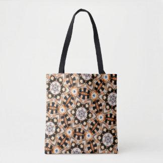 Tote Bag Kaléidoscope abstrait