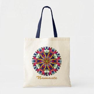 Tote Bag Kaléidoscope de Namaste de Hummer