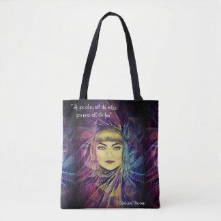 Tote Bag Katharine Hepburn - citation inspirée du féminisme