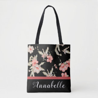 Tote Bag Ketmie rose
