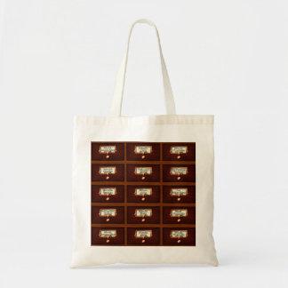 Tote Bag La bibliothèque réserve la lecture du bois de