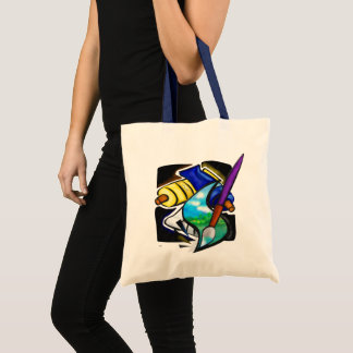 Tote Bag La conception graphique d'artiste mural FOURNIT