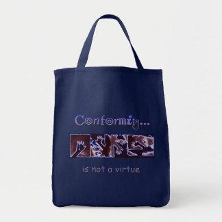 Tote Bag La conformité n'est pas une vertu