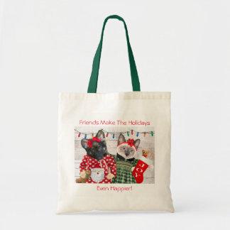 Tote Bag La fête de vacances Fourre-tout du chaton