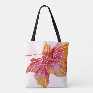 Tote Bag La fleur hawaïenne | de ketmie tout plus de -