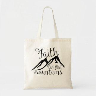 Tote Bag la foi peut déplacer des montagnes