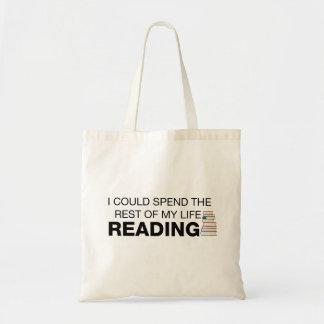 Tote Bag La lecture est la vie - amoureux des livres