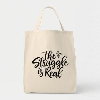 Tote Bag La lutte est vrai Fourre-tout