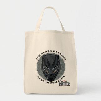 Tote Bag La panthère noire | a fait dans Wakanda
