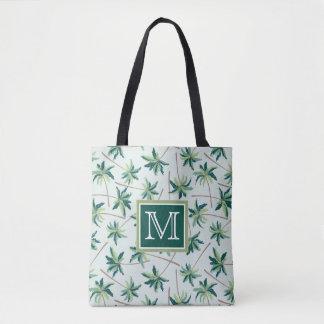 Tote Bag La paume tropicale | de vulpin ajoutent votre