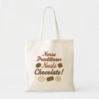 Tote Bag La praticienne d'infirmière a besoin de chocolat