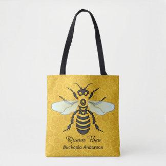 Tote Bag La reine des abeilles assez | de nid d'abeilles