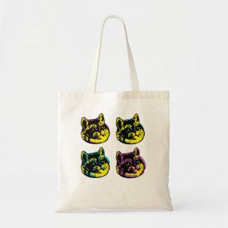 Tote Bag La respiration lourde de bruit de chats mignons