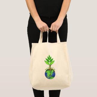 Tote Bag La réutilisation réduisent réutilisent le globe de
