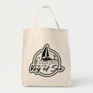 Tote Bag La vie dans la clé de l'épicerie Fourre-tout de
