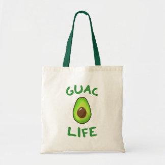 Tote Bag La VIE de GUAC (guacamole) - vert