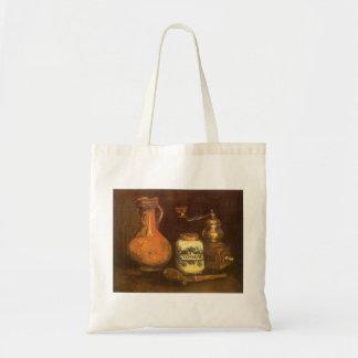 Tote Bag La vie toujours avec le moulin à café par Vincent