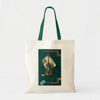 Tote Bag La vieille de violon toujours vie par Harnett,